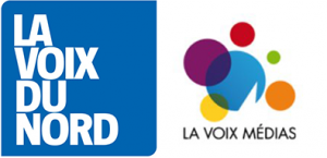 Logo La Voix Du Nord et La Voix Médias