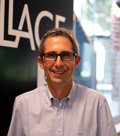 Photo de Franck Biehler, start-up manager au Village by CA Nord de France